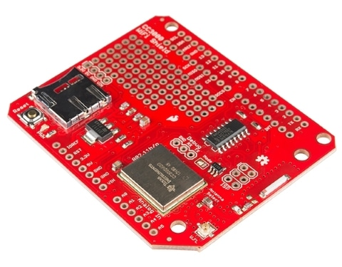 Wifi Shield CC3000 Sparkfun