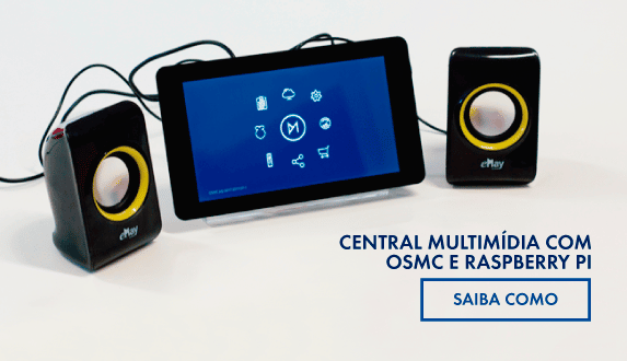 Central multimídia com o OSMC e Raspberry Pi