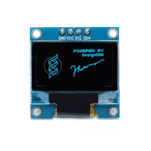 Display OLED 0.96 polegadas I2C Azul