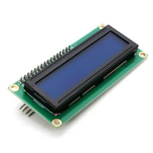 Display LCD 16x2 I2C Backlight Azul