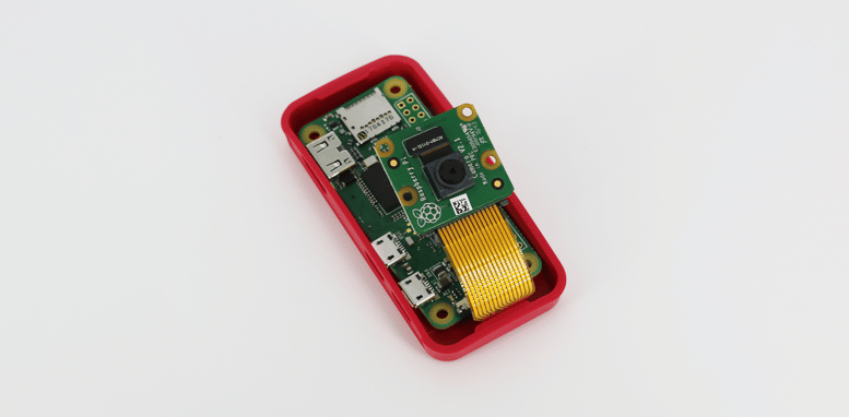 Câmera e Case Oficial Pi Zero W Wireless